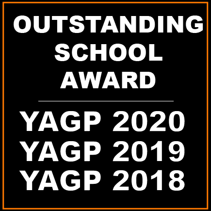 YAGP Outstanding School Award 2020, 2019, 2018